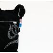 MAGYARINDA® - SZIMPLA csatos babahordozó fekete