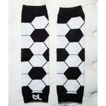 Lábmelegítő - Baby Leggings FOCI fekete-fehér  ||  MAGYARINDA®