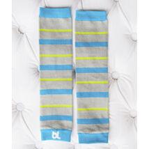 Lábmelegítő - Baby Leggings Kék csíkos ||  MAGYARINDA®