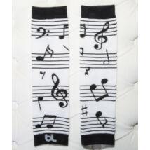 Lábmelegítő - Baby Leggings Music Zene Kotta ||  MAGYARINDA®