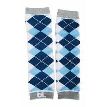 Lábmelegítő - Baby Leggings KOCKÁS kék     MAGYARINDA®