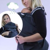 Esővédő babatakaró kapucnival - minden babahordozóhoz - 3féle színben | Magyarinda