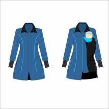 MAGYARINDA® - Hordozós kabát bővítő betéttel 2019 ÚJ!!- BÉLELT Softshell - SZAJKÓ
