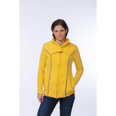 MAGYARINDA® - Hordozós pulóver bővítő betéttel - Micropolar SÁRGA