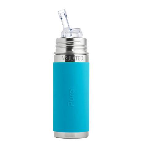 Pura TERMO® kulacs szívókával - 260 ml VízKék