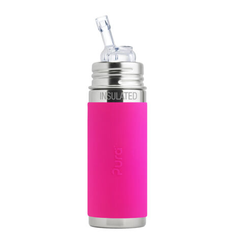 Pura TERMO® kulacs szívókával - 260 ml Pink