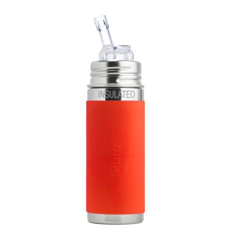 Pura TERMO® kulacs szívókával - 260 ml NARANCS