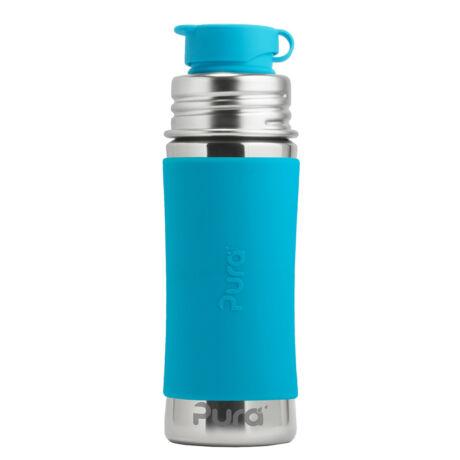 Pura TERMO® kulacs Sportkupakkal - 260 ml Kék