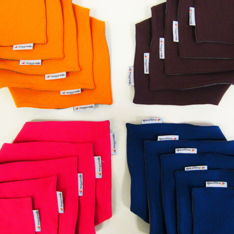 MAGYARINDA® - Babasál / Nyálkendő - Többféle színben!