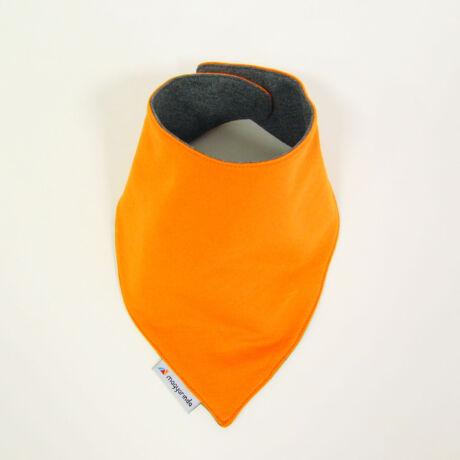 Magyarinda® - Babasál / Nyálkendő - Narancs / szürke