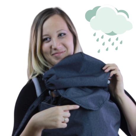 Esővédő babatakaró kölcsönzéshez