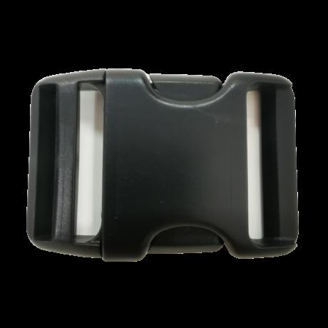 50 mm műanyag csat - Fekete | Magyarinda®