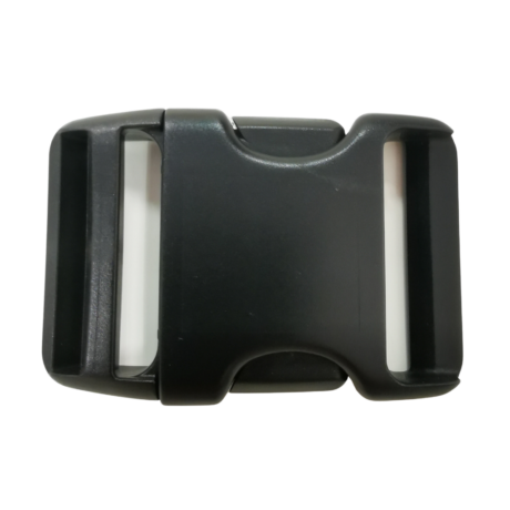 50 mm műanyag csat - Fekete   Magyarinda®