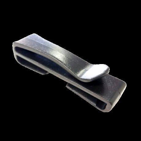 50 mm kampó - Fekete | Magyarinda®