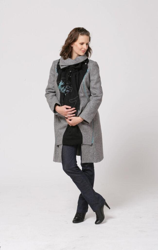 kismama kabát-magyarinda hordozós kabát - 7év - 1kabát - 5 funkció - ....és akkor a Magyarinda feltalálta a hordozós kabátot